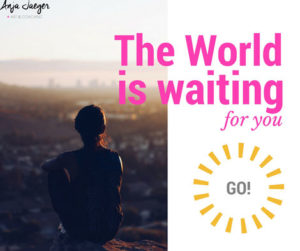 10 Ideen The World is waiting for you